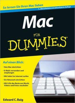 Mac fur Dummies