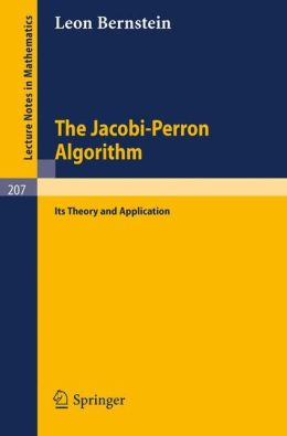 The Jacobi-Perron Algorithm: Its Theory and Application