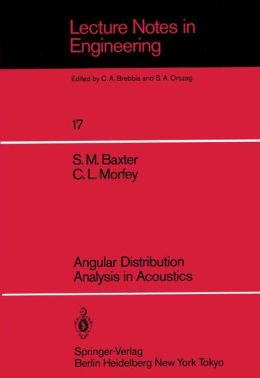 Angular Distribution Analysis in Acoustics