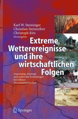 Extreme Wetterereignisse und ihre wirtschaftlichen Folgen: Anpassung, Auswege und politische Forderungen betroffener Wirtschaftsbranchen