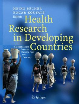 Health Research in Developing Countries: A collaboration between Burkina Faso and Germany