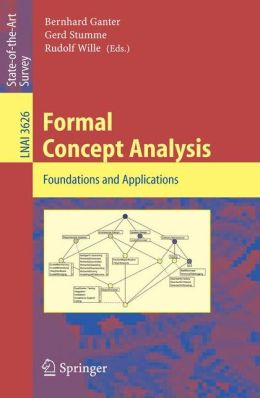 Formal Concept Analysis: Foundations and Applications