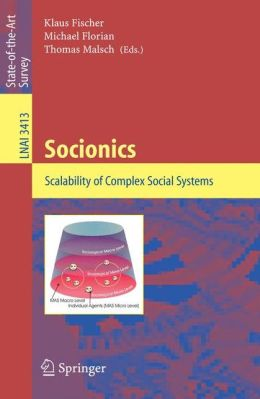 Socionics: Scalability of Complex Social Systems