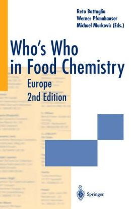 Who's Who in Food Chemistry: Europe