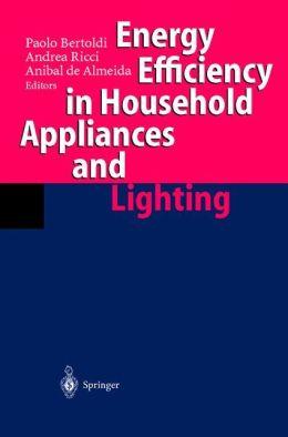 Energy Efficiency in Househould Appliances and Lighting