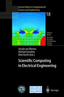 Scientific Computing in Electrical Engineering: Proceedings of the 3rd International Workshop, August 20-23, 2000, Warnemünde, Germany