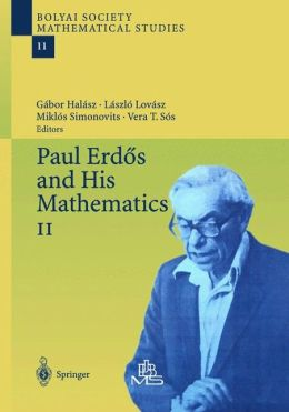 Paul Erdos and His Mathematics