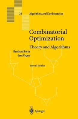 Combinatorial Optimization: Theory and Algorithims