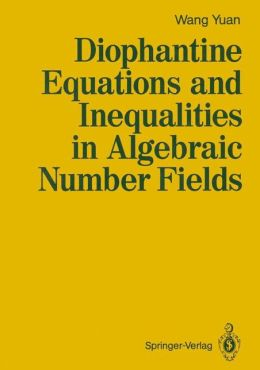 Diophantine Equations and Inequalities in Algebraic Number Fields