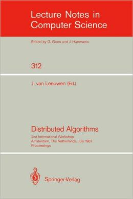 Distributed Algorithms: 4th International Workshop, Bari, Italy, September 24-26, 1990. Proceedings.