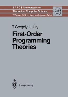 First-Order Programming Theories