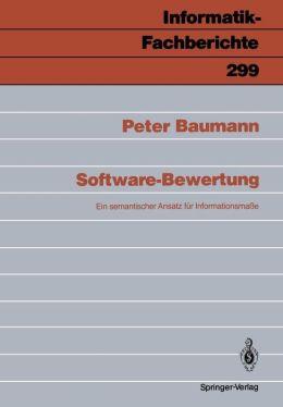 Software-Bewertung: Ein semantischer Ansatz für Infomationsmasse