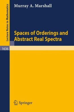 Spaces of Orderings and Abstract Real Spectra