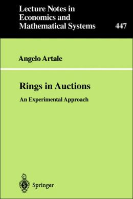 Rings in Auctions: An Experimental Approach