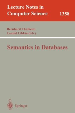 Semantics in Databases