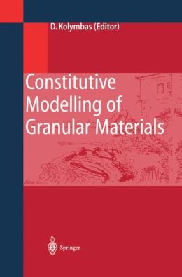 Constitutive Modelling of Granular Materials