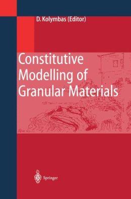 Constitutive Modelling of Granular Materials