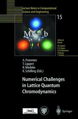 Numerical Challenges in Lattice Quantum Chromodynamics: Joint Interdisciplinary Workshop of John von Neumann Institute for Computing, Jülich, and Institute of Applied Computer Science, Wuppertal University, August 1999