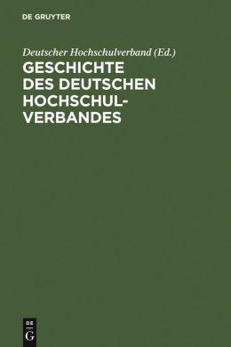 Geschichte des Deutschen Hochschulverbandes