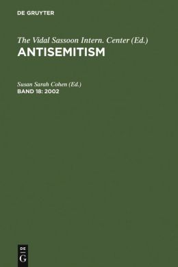 Antisemitism: An Annotated Bibliography