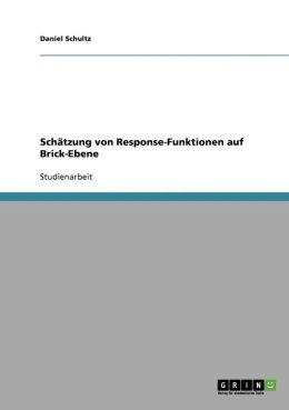 Sch Tzung Von Response-Funktionen Auf Brick-Ebene