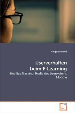 Userverhalten Beim E-Learning
