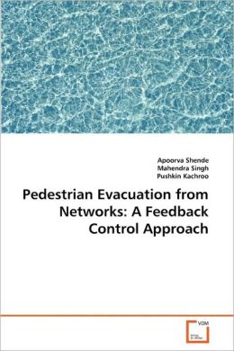 Pedestrian Evacuation from Networks: A Feedback Control Approach