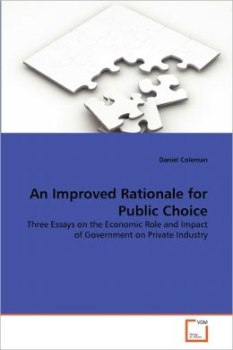 An Improved Rationale For Public Choice