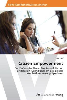 Citizen Empowerment