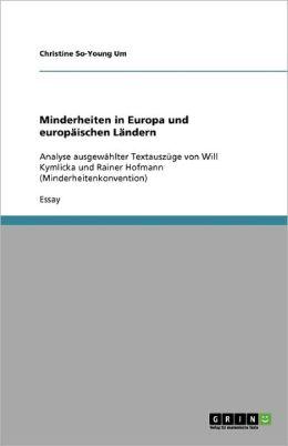 Minderheiten In Europa Und Europ Ischen L Ndern