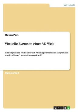 Virtuelle Events In Einer 3d Welt