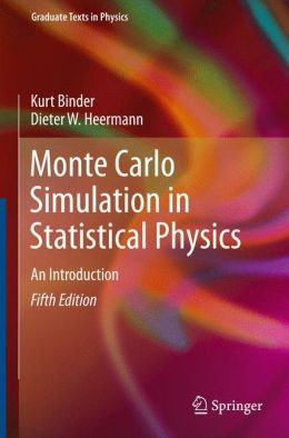 Monte Carlo Simulation in Statistical Physics: An Introduction