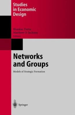 Networks and Groups: Models of Strategic Formation