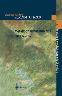 Metallopharmaceuticals I: DNA Interactions