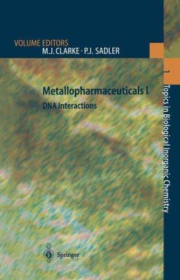 Metallopharmaceuticals I: DNA Interactions