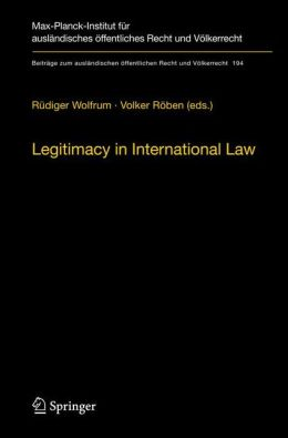 Legitimacy in International Law