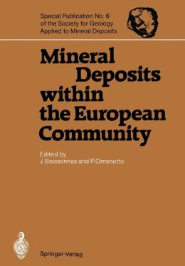 Mineral Deposits within the European Community