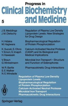 Regulation of Plasma Low Density Lipoprotein Levels Biopharmacological Regulation of Protein Phosphorylation Calcium-Activated Neutral Protease Microbial Iron Transport Pharmacokinetic Drug Interactions
