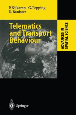 Telematics and Transport Behaviour