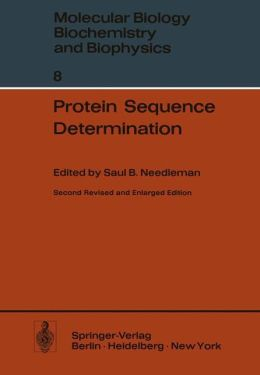 Protein Sequence Determination: A Sourcebook of Methods and Techniques