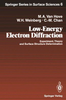 Low-Energy Electron Diffraction: Experiment, Theory and Surface Structure Determination