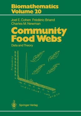 Community Food Webs: Data and Theory