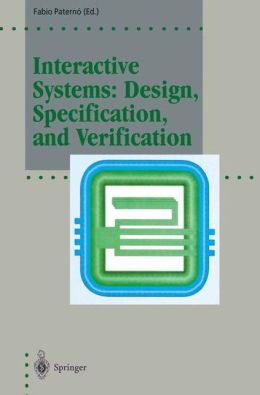 Interactive Systems: Design, Specification, and Verification: 1st Eurographics Workshop, Bocca di Magra, Italy, June 1994