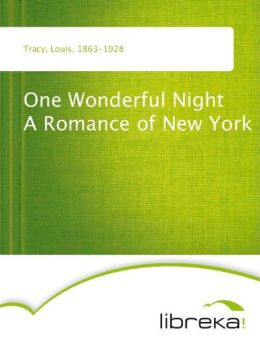 One Wonderful Night A Romance of New York