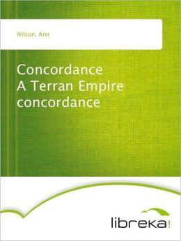 Concordance A Terran Empire concordance