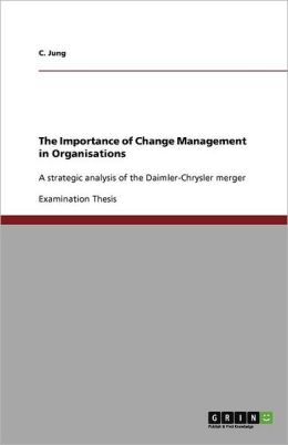 The Importance of Change Management in Organisations
