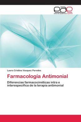 Farmacologia Antimonial