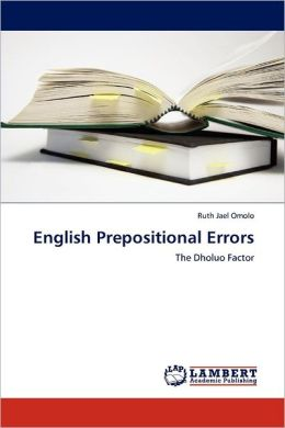 English Prepositional Errors