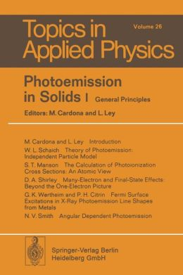 Photoemission in Solids I: General Principles