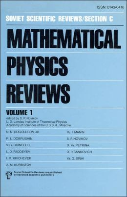 Mathematical Physics Reviews
